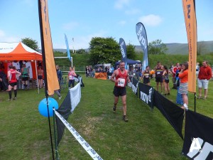 Edale Fell Race 2013, Finish Line